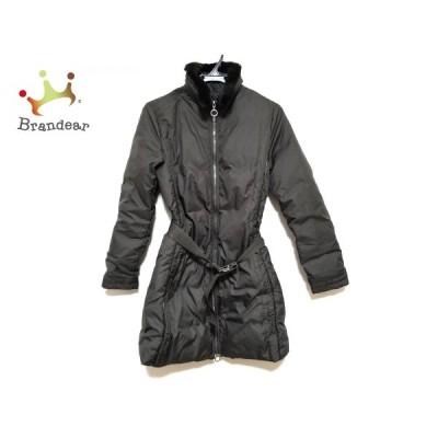 モンクレール MONCLER ダウンコート サイズ0 XS レディース 美品 - ダークブラウン 長袖/冬   スペシャル特価 20210314