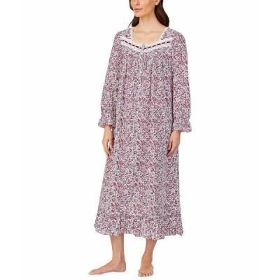 エイレーンウェスト ナイトウェア アンダーウェア レディース Cotton Lawn Woven Long Sleeve Ballet Gown Multi Floral