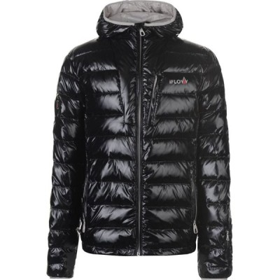IFlow メンズ ジャケット アウター Diamond Jacket Black/Silver