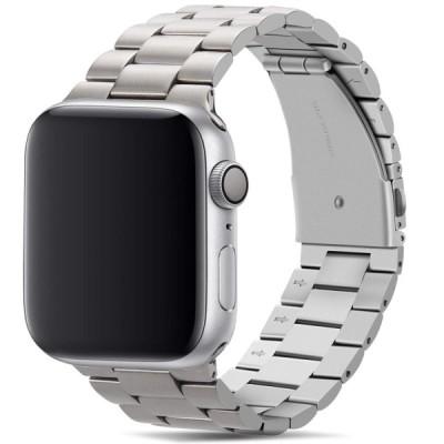Tasikar コンパチブル Apple Watch バンド 44mm 42mm プレミアムステンレススチールメタル交換バンド Apple Watch シリーズ4 (44mm) シリーズ3 / 2 / 1 (42mm)用