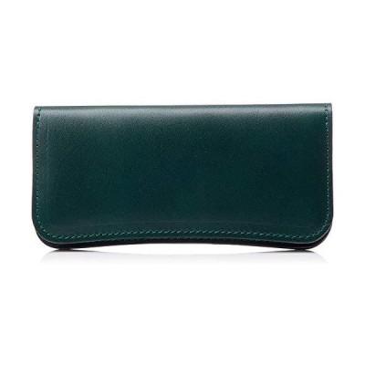 【NewStep】牛革 ロングウォレット [メンズ] 薄型 長財布 二つ折り 本革 人気 レシート すっきり かわいい シンプ