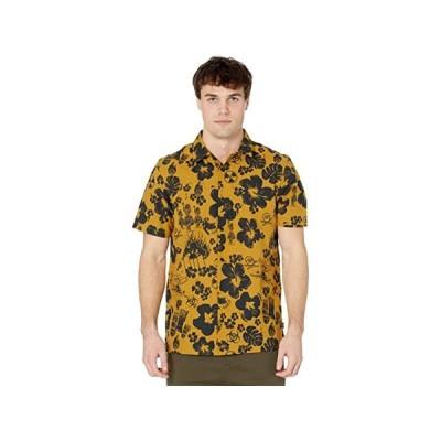(取寄)バンズ メンズ ダーク アロハ ショート スリーブ ウーブン Vans Men's Dark Aloha Short Sleeve Woven Dried Tobacco/Dark Aloha