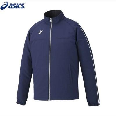 asics/アシックス XAT534 スポーツウェア メンズ ストレッチクロスジャケットネイビー