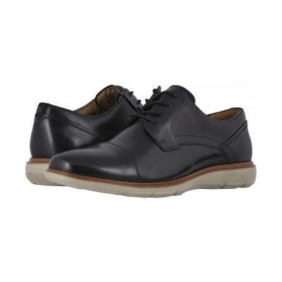 Florsheim フローシャイム メンズ 男性用 シューズ 靴 ローファー Ignight Cap Toe Oxford - Black Smooth