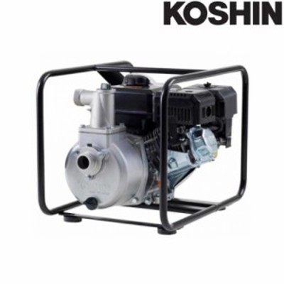 ハイデルスポンプ SEV-40X 4サイクルエンジン (工進K180) 全揚程33m 重量26.5kg 工進 KOSHIN エンジンポンプ シB 送料無料 代引不可