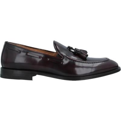 グラツィアーノ サルヴァテッリ GRAZIANO SALVATELLI メンズ ローファー シューズ・靴 loafers Maroon