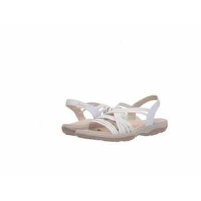 SKECHERS スケッチャーズ レディース 女性用 シューズ 靴 サンダル Reggae Slim Simply Stretch White【送料無料】