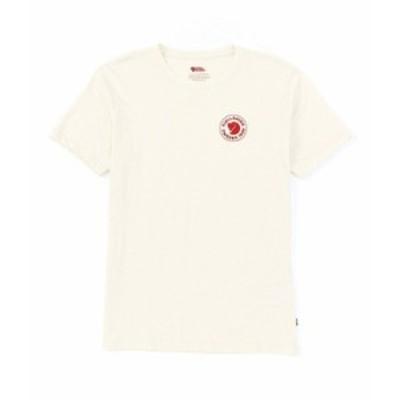 フェールラーベン メンズ シャツ トップス 1960 Logo Recycled Organic Cotton Short-Sleeve Tee Chalk White