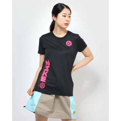 ナイキ NIKE レディース フィットネス 半袖Tシャツ ナイキ ウィメンズ DRI-FIT LEG アイコン クラッシュ S/S Tシャツ CV5241010