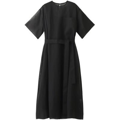 LE CIEL BLEU ルシェルブルー ボイルテントドレス レディース ブラック 36