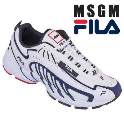エムエスジーエム MSGM スニーカー MSGM x Fila コラボレーション 2840MS0126F-299-01