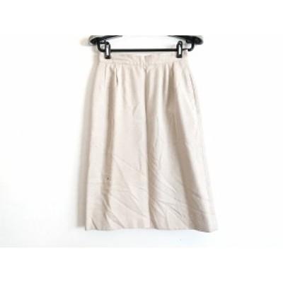 ブリティッシュカーキ BRITISH KHAKI スカート サイズL レディース ベージュ【中古】20200623