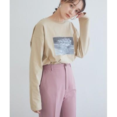 ViS / アソートロゴロンT WOMEN トップス > Tシャツ/カットソー
