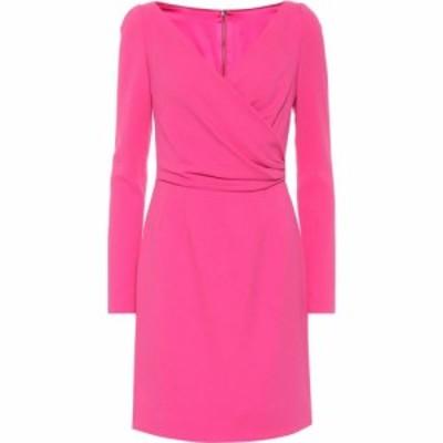 ドルチェandガッバーナ Dolce and Gabbana レディース ワンピース ラップドレス ワンピース・ドレス Crepe wrap dress Rose Pink