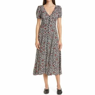 ラルフ ローレン POLO RALPH LAUREN レディース ワンピース ワンピース・ドレス Floral Print Crepe Midi Dress Poppy Field Floral