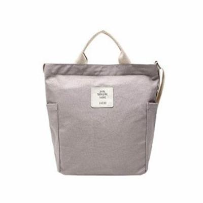 女性キャンバスバッグ 人気 レデイースショルダーメッセンジャーバッグ トートバッグ 大容量 多機能 シンプルなデザイン