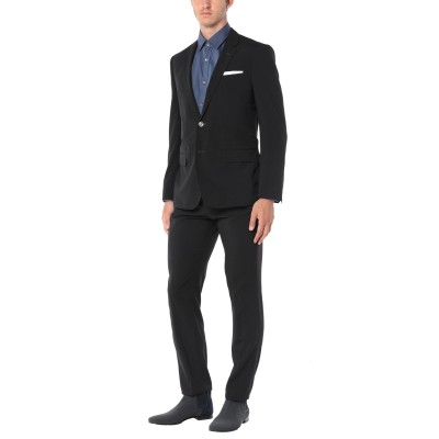 BOSS HUGO BOSS スーツ ブラック 48 バージンウール 100% スーツ