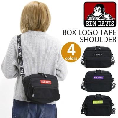 ショルダーバッグ BEN DAVIS ベンデイビス スクエアタイプ BOX LOGO TAPE SHOULDER メンズ レディース ユニセックス ブランド 旅行