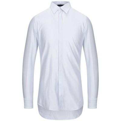 UNGARO シャツ ホワイト 38 コットン 60% / レーヨン 40% シャツ