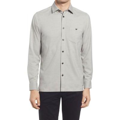 テッドベーカー TED BAKER LONDON メンズ シャツ トップス Robott Button-Up Shirt Natural