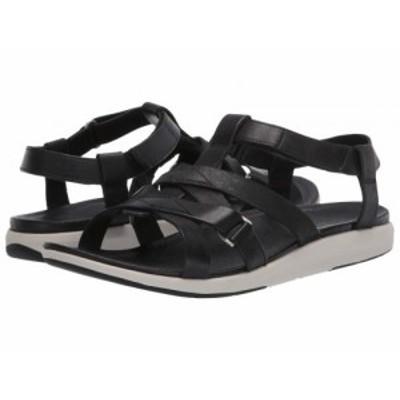 Merrell メレル レディース 女性用 シューズ 靴 サンダル Kalari Shaw Strap Black【送料無料】