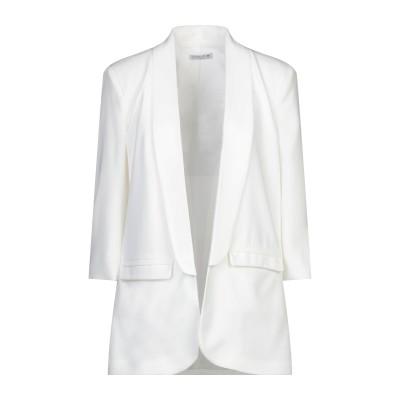 HOPE COLLECTION テーラードジャケット ホワイト L ポリエステル 96% / ポリウレタン 4% テーラードジャケット