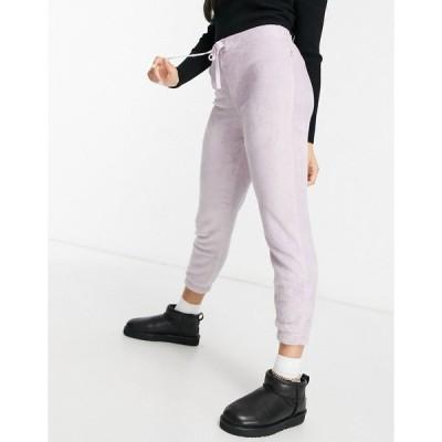 アグ レディース カジュアルパンツ ボトムス UGG Betsey loungewear bottoms in lilac Lilac frost