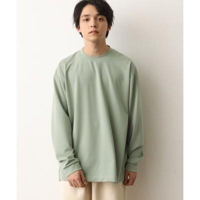 tシャツ Tシャツ ルーズシルエットポンチクルー