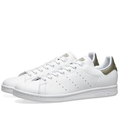 アディダス Adidas メンズ スニーカー シューズ・靴 Stan Smith White/Trace Cargo