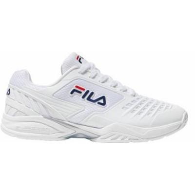 フィラ メンズ スニーカー シューズ Fila Men's Axilus 2 Energized Tennis Shoe White/White