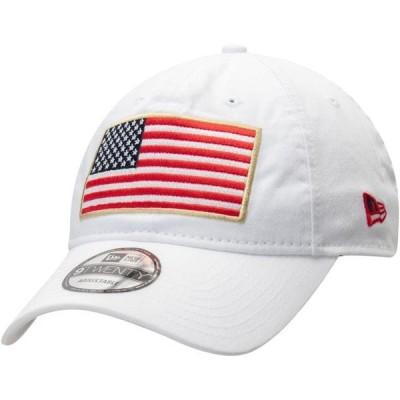 ユニセックス スポーツリーグ アメリカ大学スポーツ Air Force Falcons New Era Country First 9TWENTY Adjustable Hat - White - OSFA