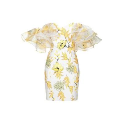FOREVER UNIQUE チューブドレス ファッション  レディースファッション  ドレス、ブライダル  パーティドレス イエロー