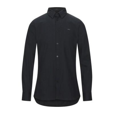 ゲス GUESS シャツ ブラック M コットン 98% / ポリウレタン 2% シャツ