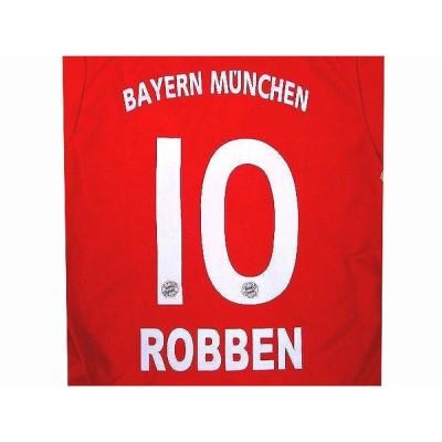 子供用 K022 バイエルンHOME ROBBEN*10 ロッベン 赤 14 ゲームシャツ パンツ付 ジュニア ユニフォーム