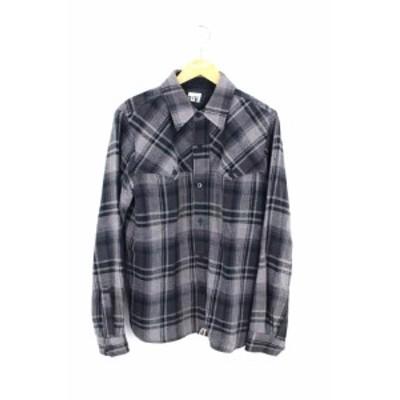 アベイシングエイプ A BATHING APE ネルシャツ サイズJPN:M メンズ 【中古】【ブランド古着バズストア】