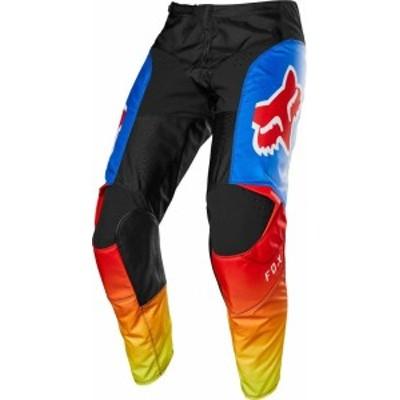 送料無料 Fox Racing 180 Fyce Youth Off Roadオートバイパンツ - ブルー/レッド/ 2