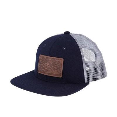 ベレッタ メンズ 帽子 アクセサリー Engraved Patch Flat Bill Trucker Hat