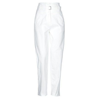 トゥルー ロイヤル TRUE ROYAL パンツ ホワイト 40 コットン 98% / ポリウレタン 2% パンツ