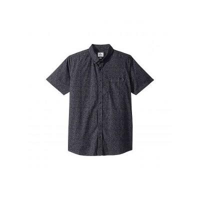 Rip Curl リップカール メンズ 男性用 ファッション ボタンシャツ Dark Paradise Short Sleeve Shirt - Charcoal