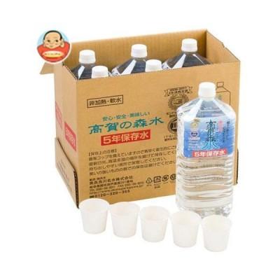 奥長良川名水 高賀の森水 5年保存水 2Lペットボトル×6本入