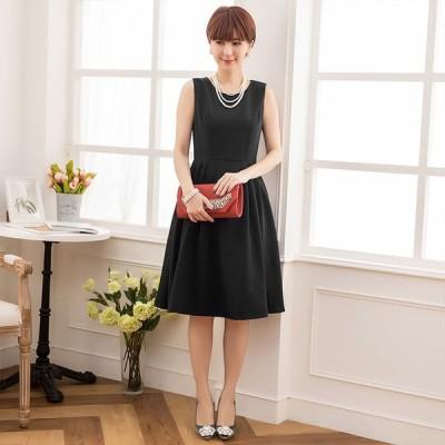 パーティードレス ドレス お呼ばれ 結婚式 ツーピース スカート ミディアムドレス 袖付 袖あり 半袖 五部袖