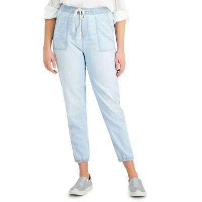 セレブリティピンク レディース デニムパンツ ボトムス Juniors' Jogger Jeans