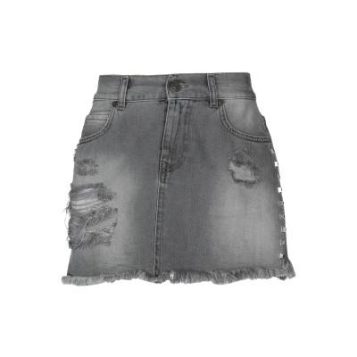 GAëLLE Paris デニムスカート 鉛色 31 コットン 100% デニムスカート