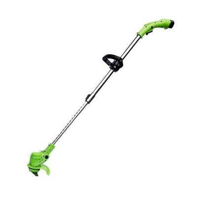 新品Double east Small Grass Trimmer,Multi Functional Grass Mower,Rechargeable String Trimmer,Weed Eater with 3 Types of Blades,12V 6.0-Ah