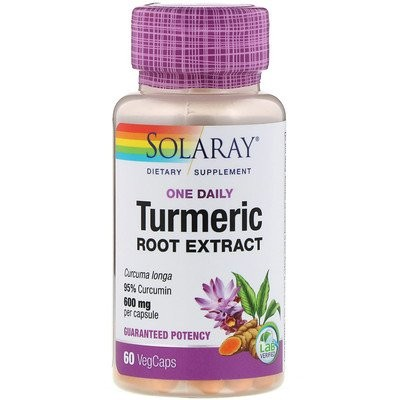 One Daily, Turmeric Root Extract, 600 mg, 60 VegCaps
