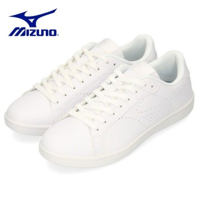 ミズノ MIZUNO スニーカー メンズ レディース ホワイト 白 CW1 D1GA208401 ワイズ 3E 幅広 シンプル スポーツ ユニセックス 男女兼用 セール