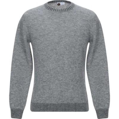 ヘリテイジ HERITAGE メンズ ニット・セーター トップス sweater Grey