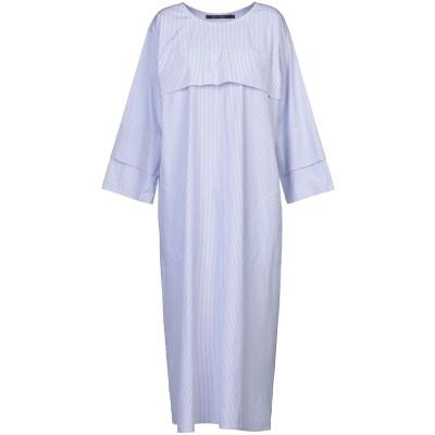 ソフィー・ドール SOFIE D'HOORE ロングワンピース&ドレス スカイブルー 38 コットン 100% ロングワンピース&ドレス