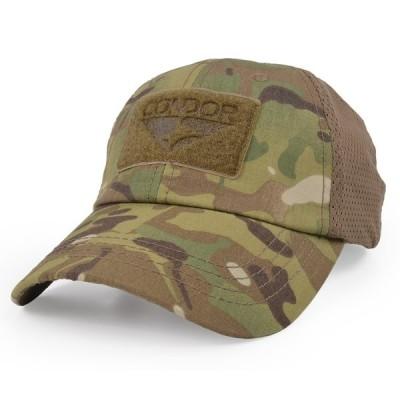 CONDOR 野球帽 タクティカルキャップ メッシュ [ マルチカモ ] TCM-008 ベースボールキャップ メンズ ワークキャップ ハット