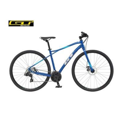 (店舗受取送料割引)GT (ジーティー) 21'TRANSEO SPORT トランセオ スポーツ V2(3x7s)クロスバイク700C(マイクロシフト仕様)